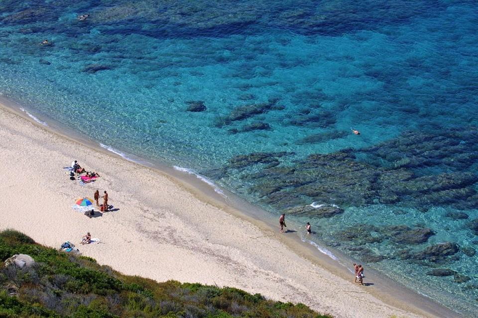 Plage Linguizzetta, Corsica, France (1)