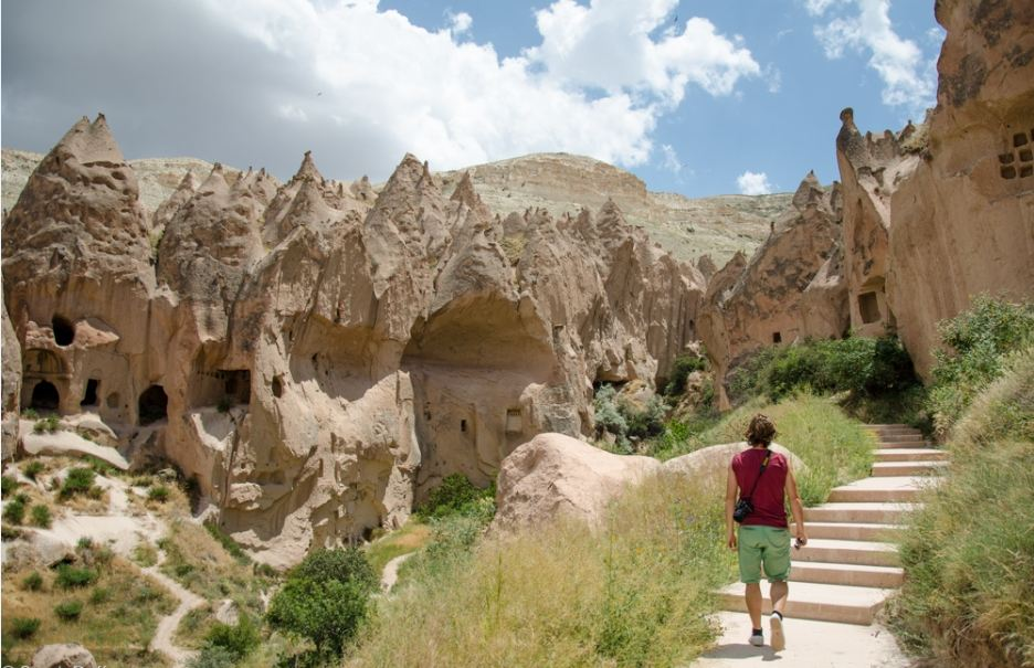 Zelve Cappadocia valley turkey Photo by: best places to visit in Cappadocia blog.
