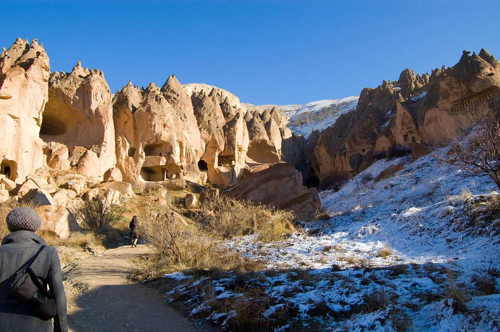 Zelve Cappadocia valley turkey1