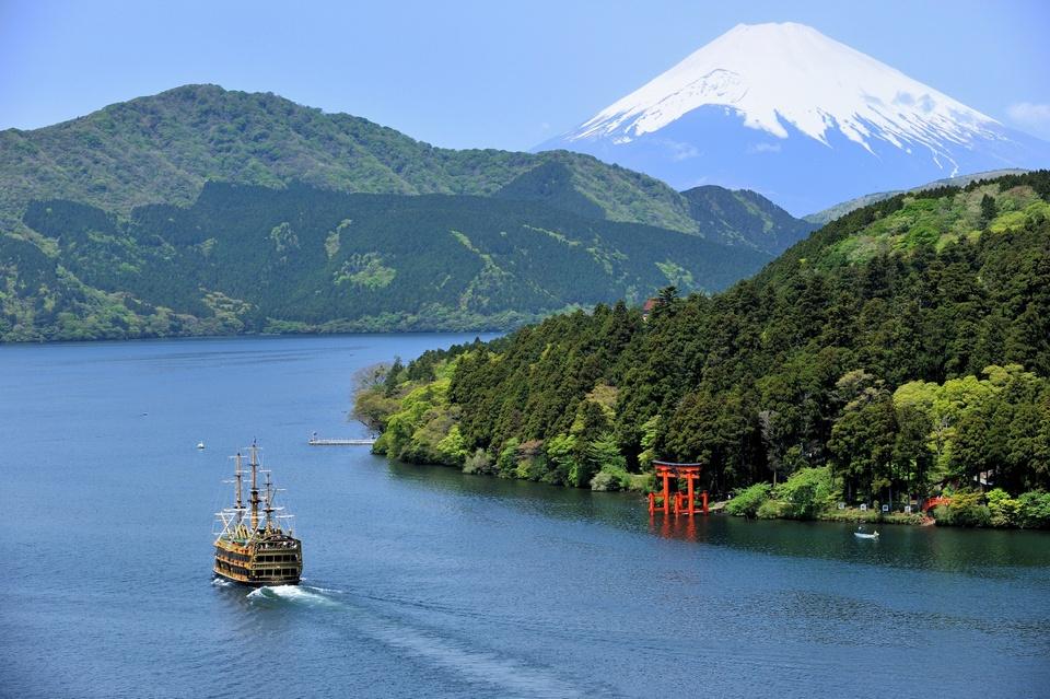 Hakone Ashino lake,Kanagawa Prefecture,Japan