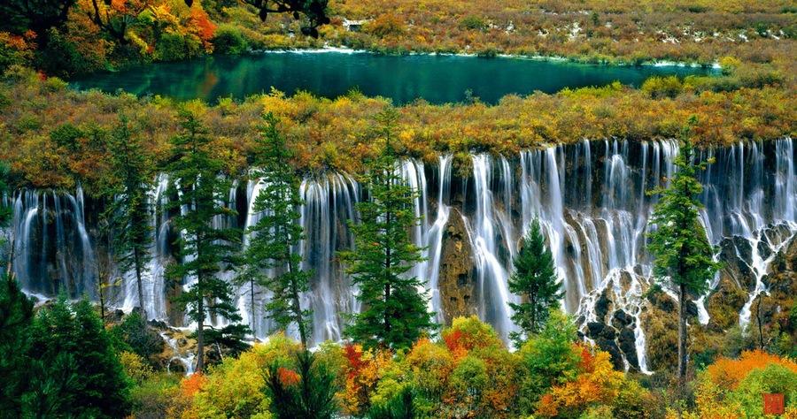 Jiuzhaigou autumn china (1)