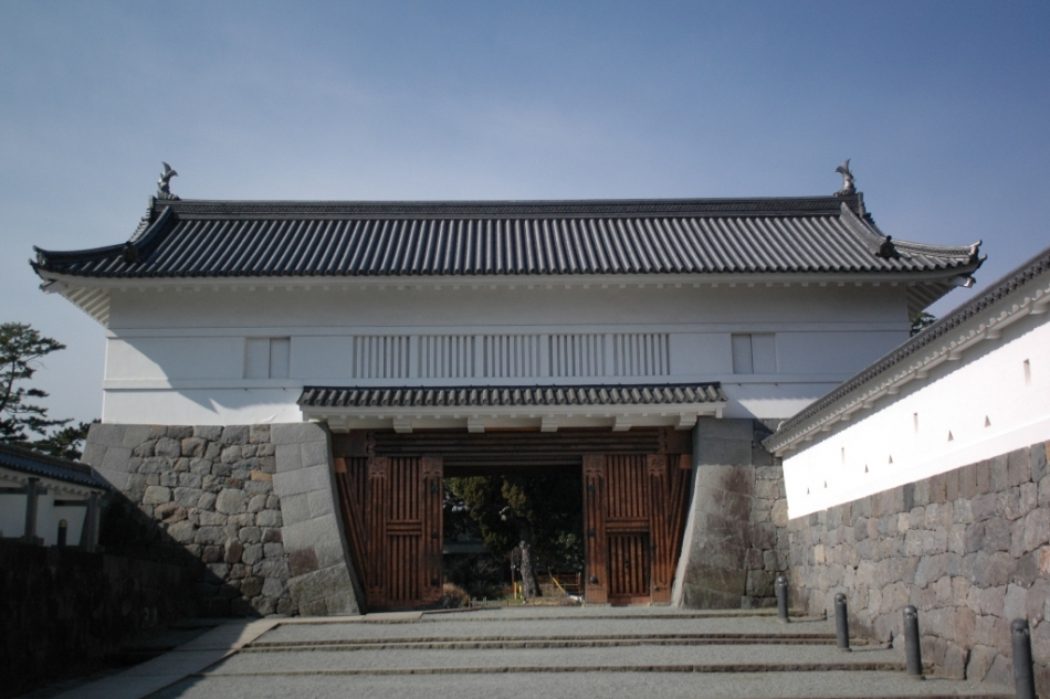 Odawara castle gate