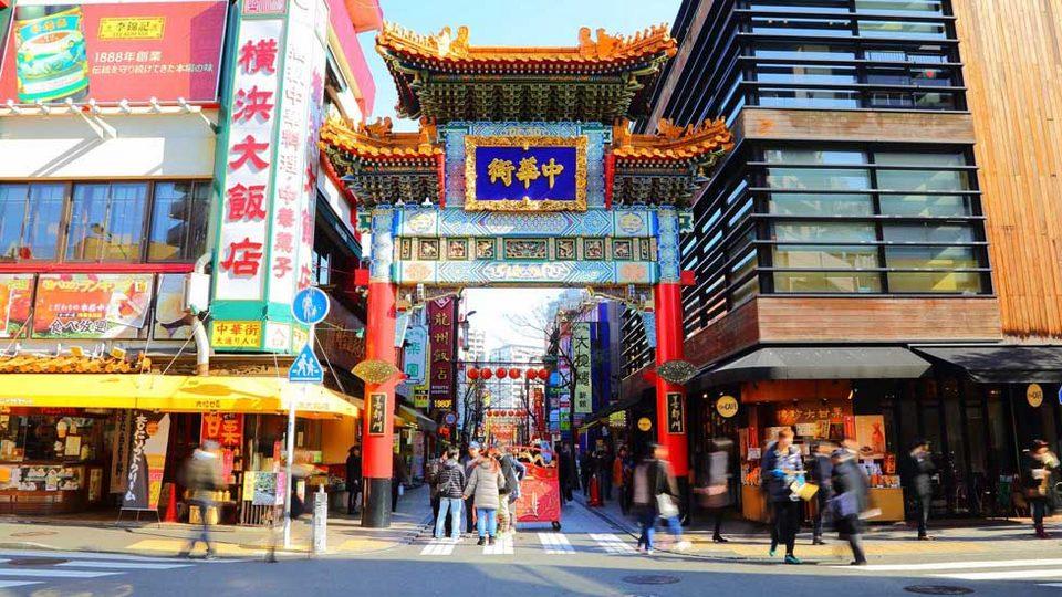 3.Yokohama Chinatown