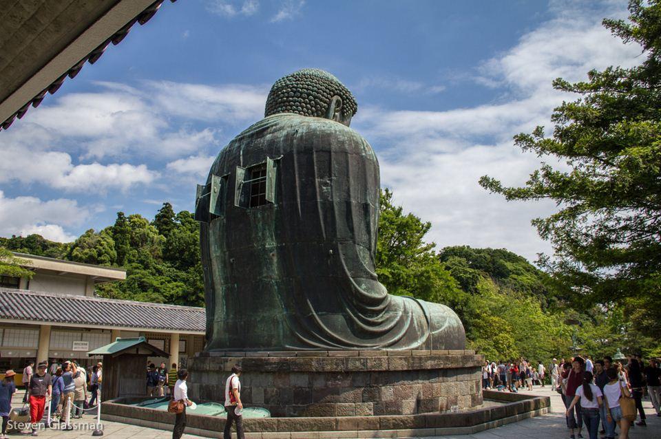 Big Buddha (Daibutsu) of Kamakura's Kotokuin Temple