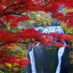 Japanese waterfall — Top 10 most beautiful waterfalls in Japan in autumn
