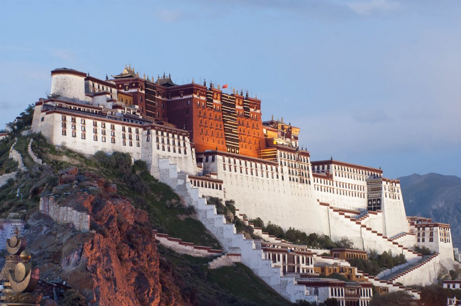 The Potala Palace Picture: Potala Palace Tibet blog.