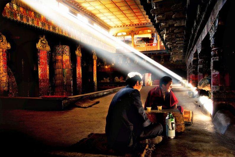 inside potala palace tibet