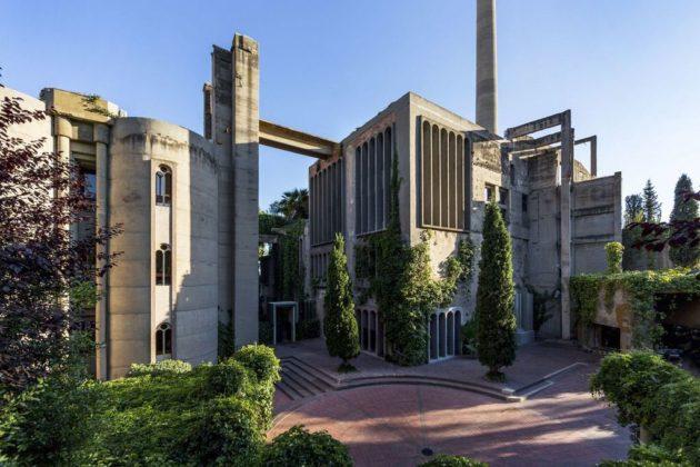 1La Fabrica Ricardo Bofill residence la fabrica barcelona (12)