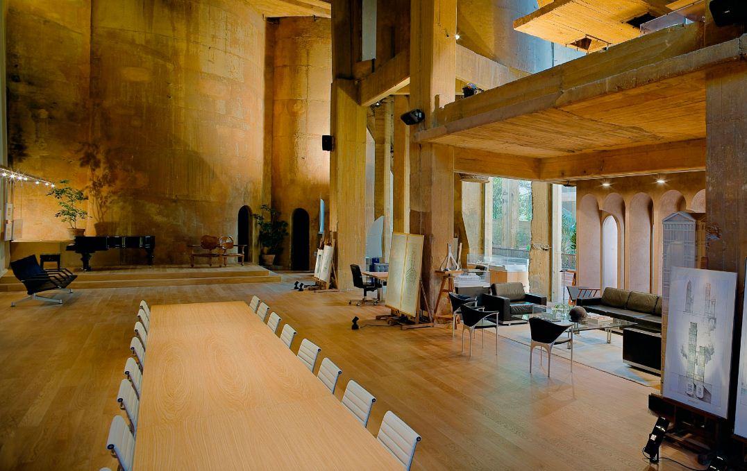4La Fabrica Ricardo Bofill residence la fabrica barcelona (10 ...