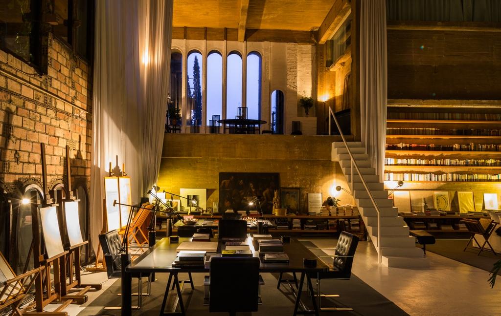 La Fabrica Ricardo Bofill residence la fabrica barcelona (13 ...