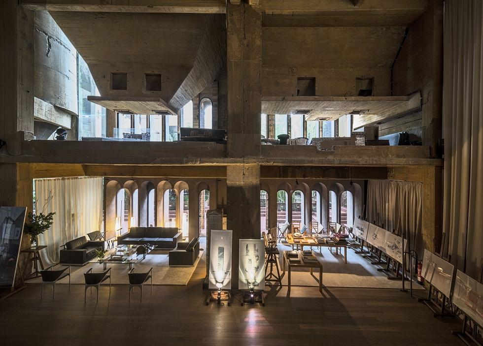 La Fabrica Ricardo Bofill residence la fabrica barcelona (7 ...