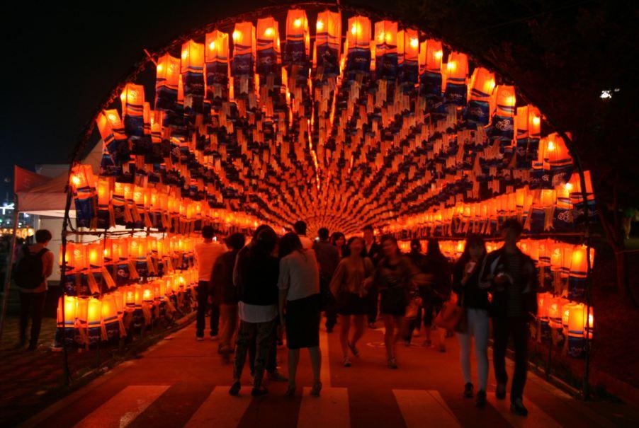 10. Jinju Lantern Festival
