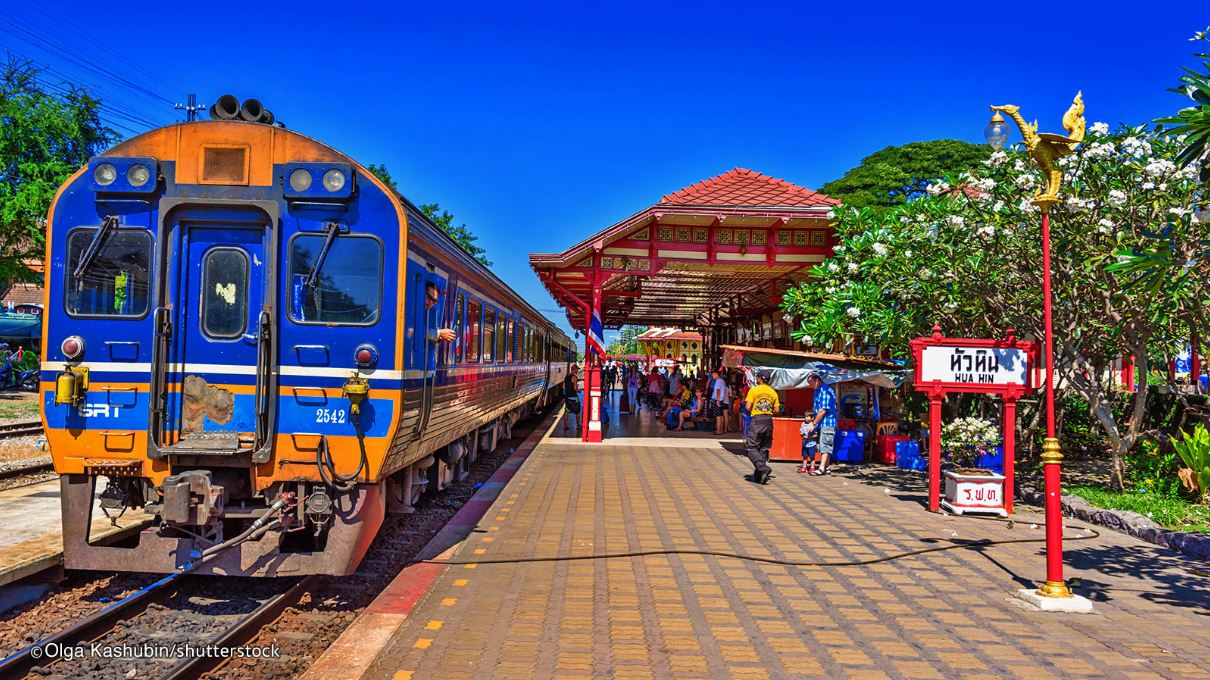 hua-hin-train-station at night best places to visit in hua hin places to visit hua hin 2