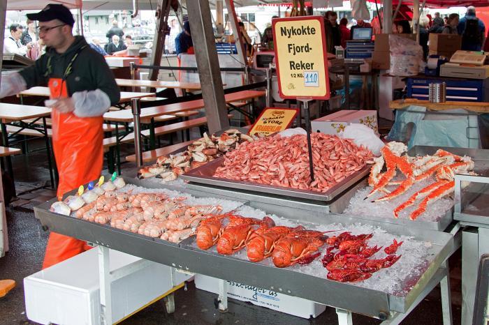 Fisketorget market