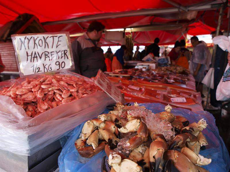 Fisketorvet fish market2
