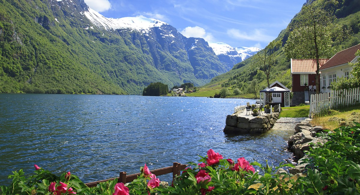 Flåm, Norway4 Image: travel to Norway on a budget blog. My trip to Norway