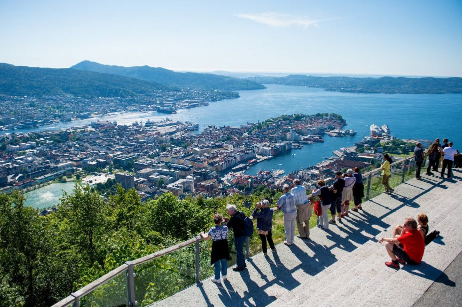 Floyen-in-Bergen-Norway1 Photo by: Norway travel itinerary blog.