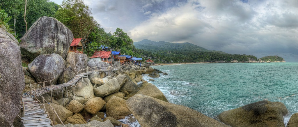 Haad Yuan beach_best beutiful beaches in koh phangan1