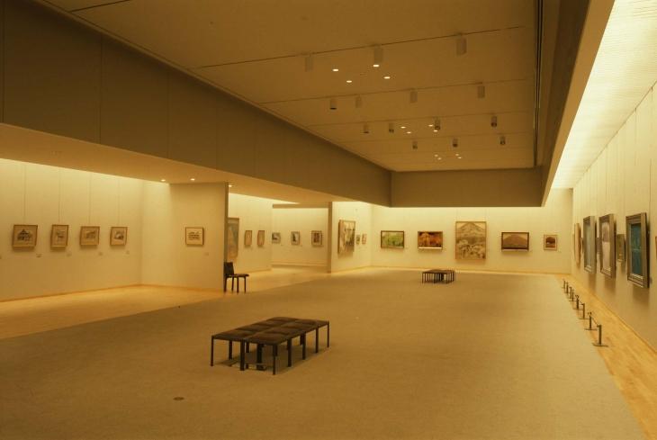 Nagano Prefectural Shinano Art Museum Higashiyama Kaii Gallery (1)