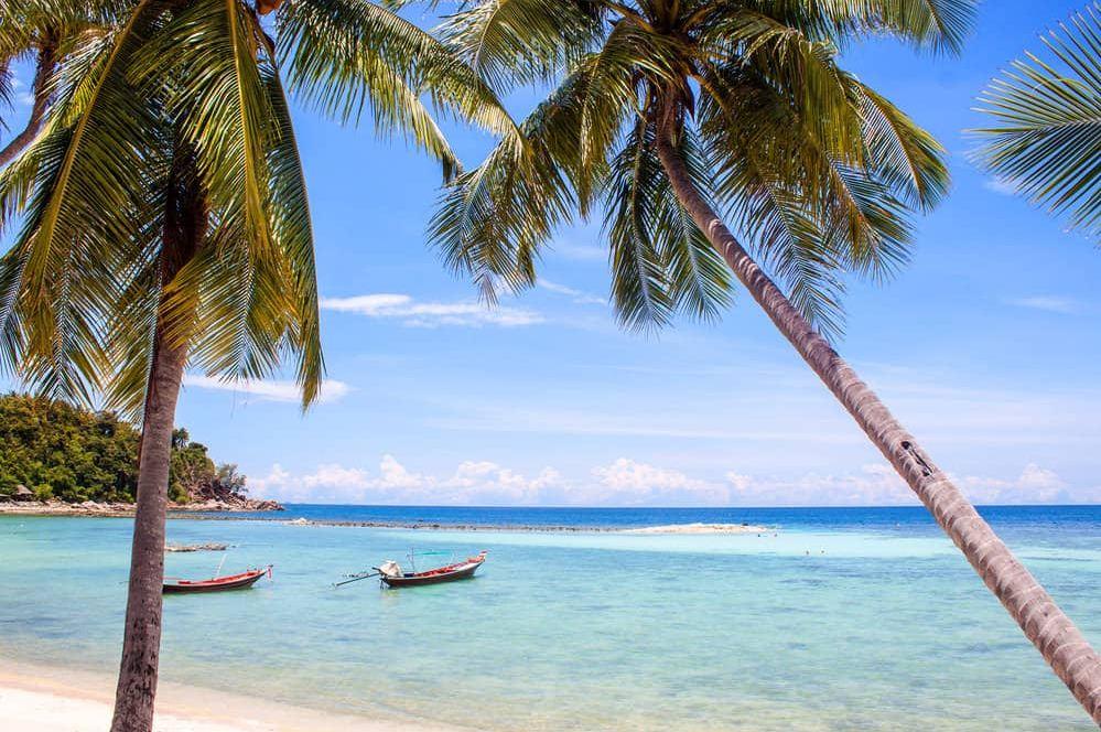 Haadyao beach koh phangan