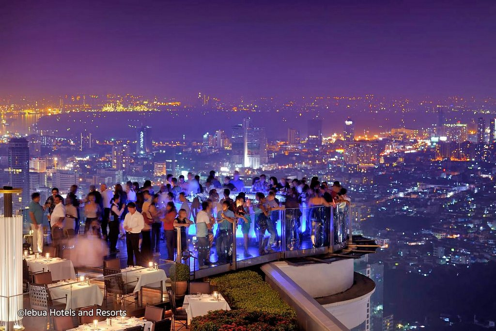 Best Rooftop Bars in Bangkok Thailand cheap things to do in bangkok at night, fun things to do in bangkok at night