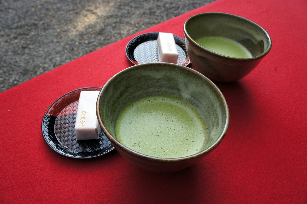 Tea at Okochi Sanso