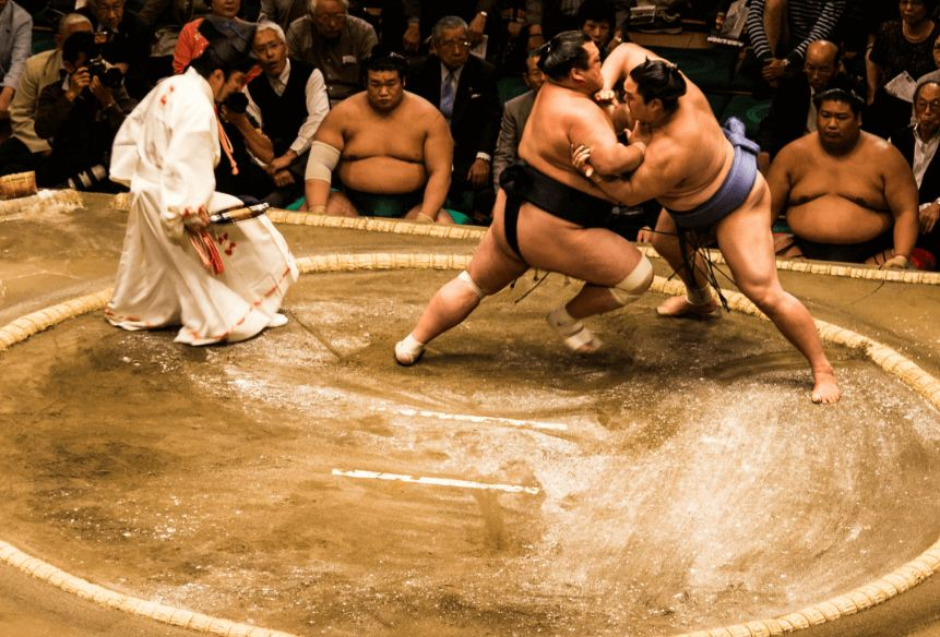 Sumo in Japan1