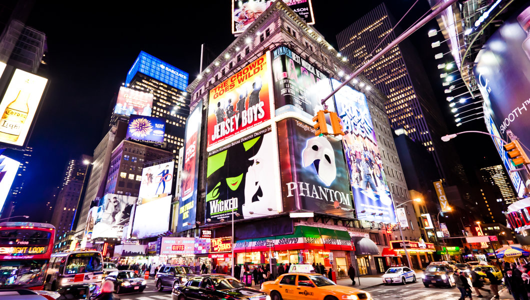 Broadway,New York best places to visit in nyc top places to visit in nyc Photo: New York City tourist places blog.