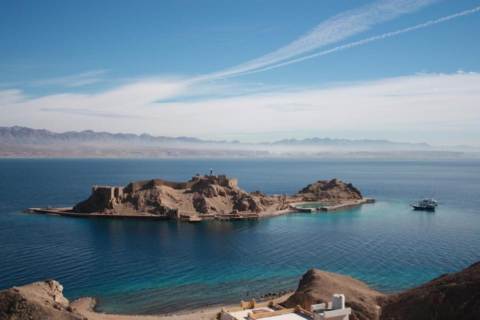 Pharaoh's Island, Sinai, Egypt, sinai blog