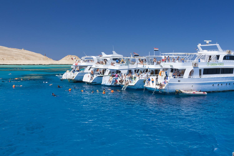 sinai boat tours