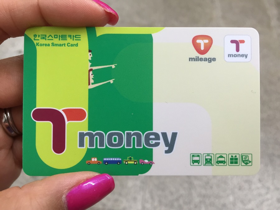 You can add money to your T-money card at the machines in the subway or at any convenience store (7-11, GS-25, etc).