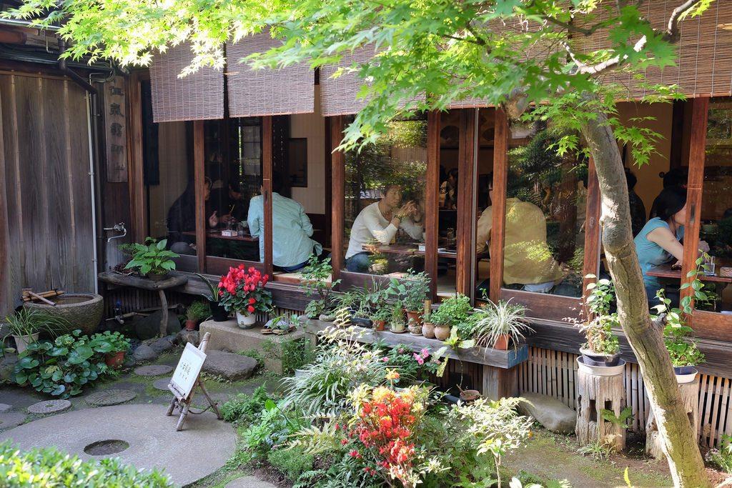 Kosoan Tea House Japanese Tokyo Cafe