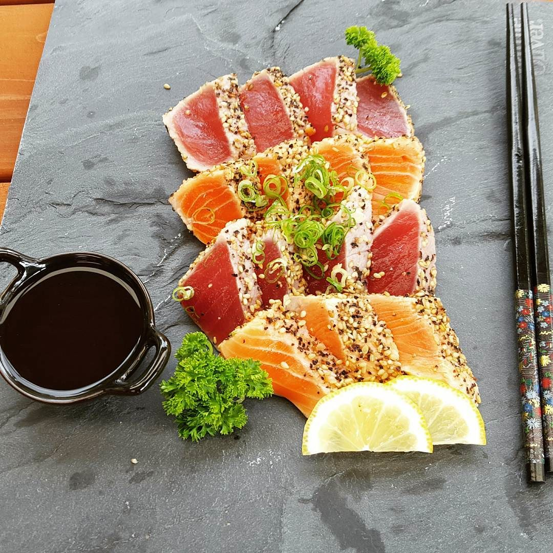 sashimi pieces