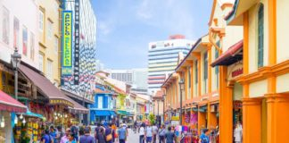Little India Singapore. One of the best places to visit in Singapore.
