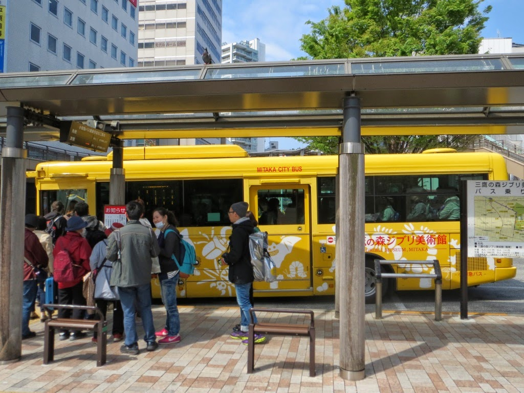 Ghibli Museum Bus 1