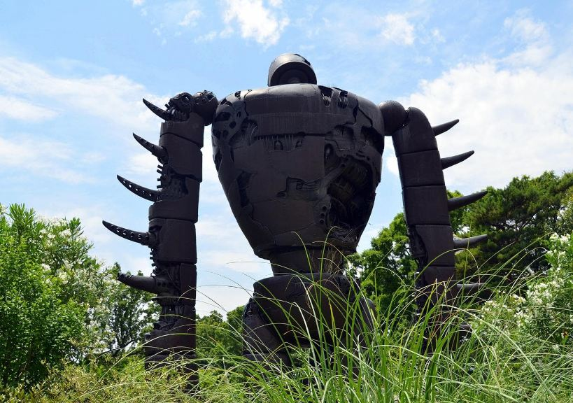 Ghibli Museum Robot Image: Ghibli Tokyo blog.