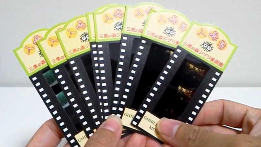 Ghibli Museum film ticket 1