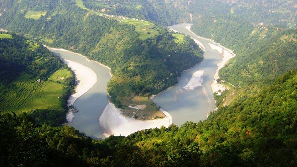 Kaligandaki river mustang nepal mustang nepal trek
