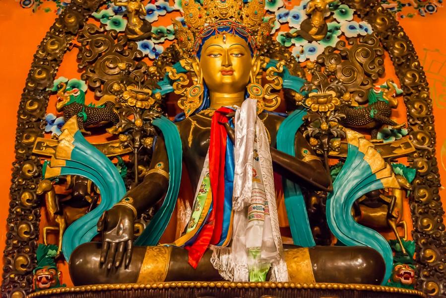Litang-White Tara at Ganden Thubchen Choekhorling Monastery