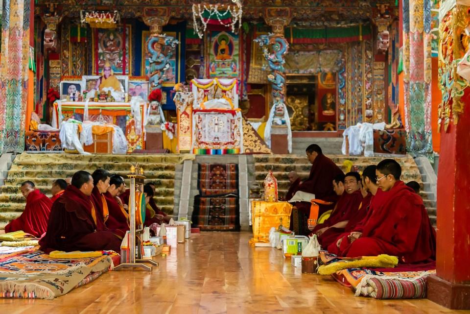 Ganden Thubchen Choekhorling Monastery, Litang Temple