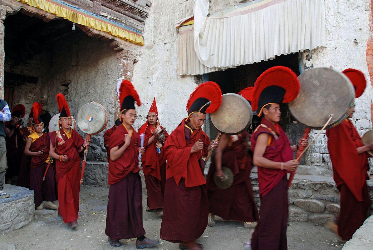 Monks at Lo-Manthang