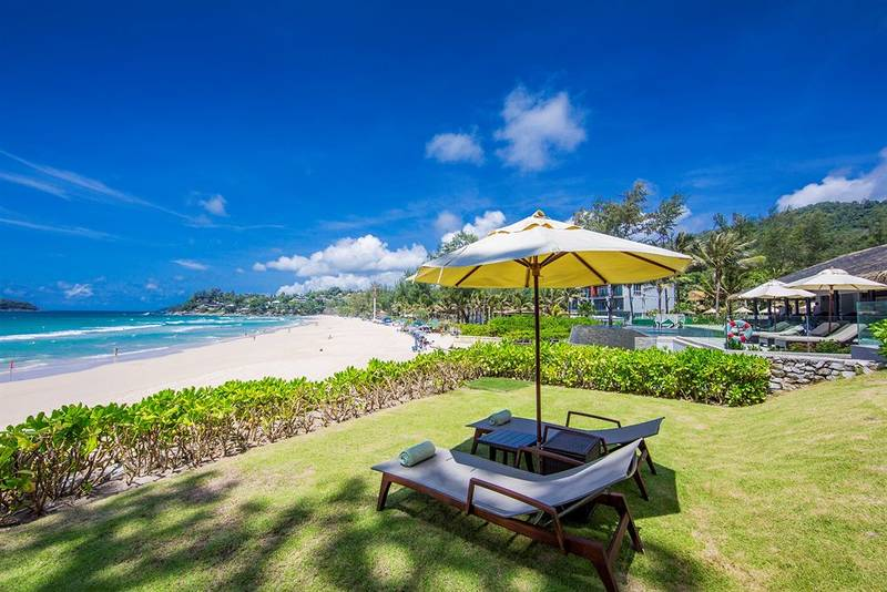 Kata beach Image by: best beach to stay in phuket blog.