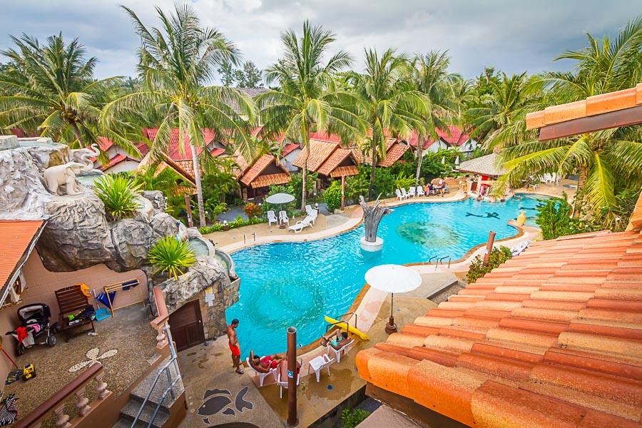 Laguna resort