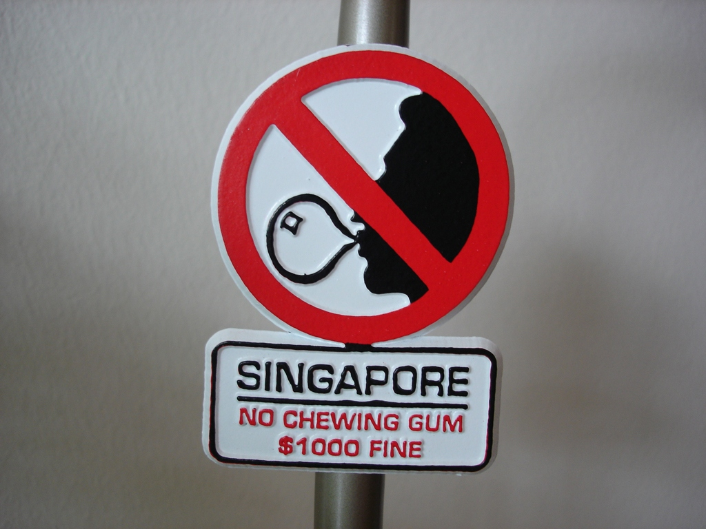 singapore-things are not allowed to do in singapore (3) Picture: Singapore rules for foreigners blog.