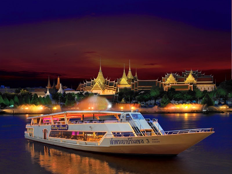 Enjoy dinner on the cruise – best thing to do when travelling to Bangkok (9)