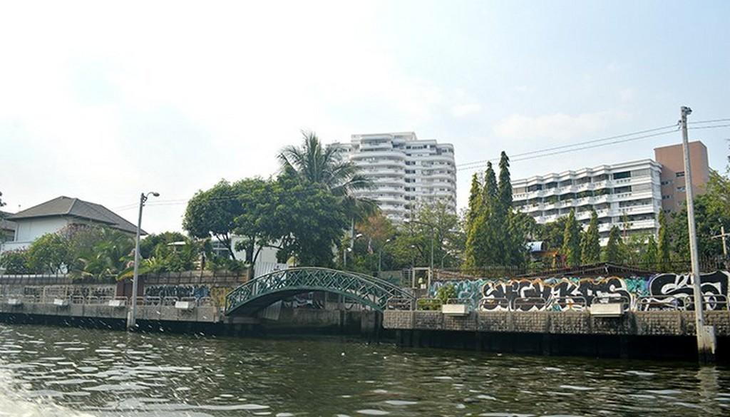 Saen Saeb Canal bangkok river boat map thailand