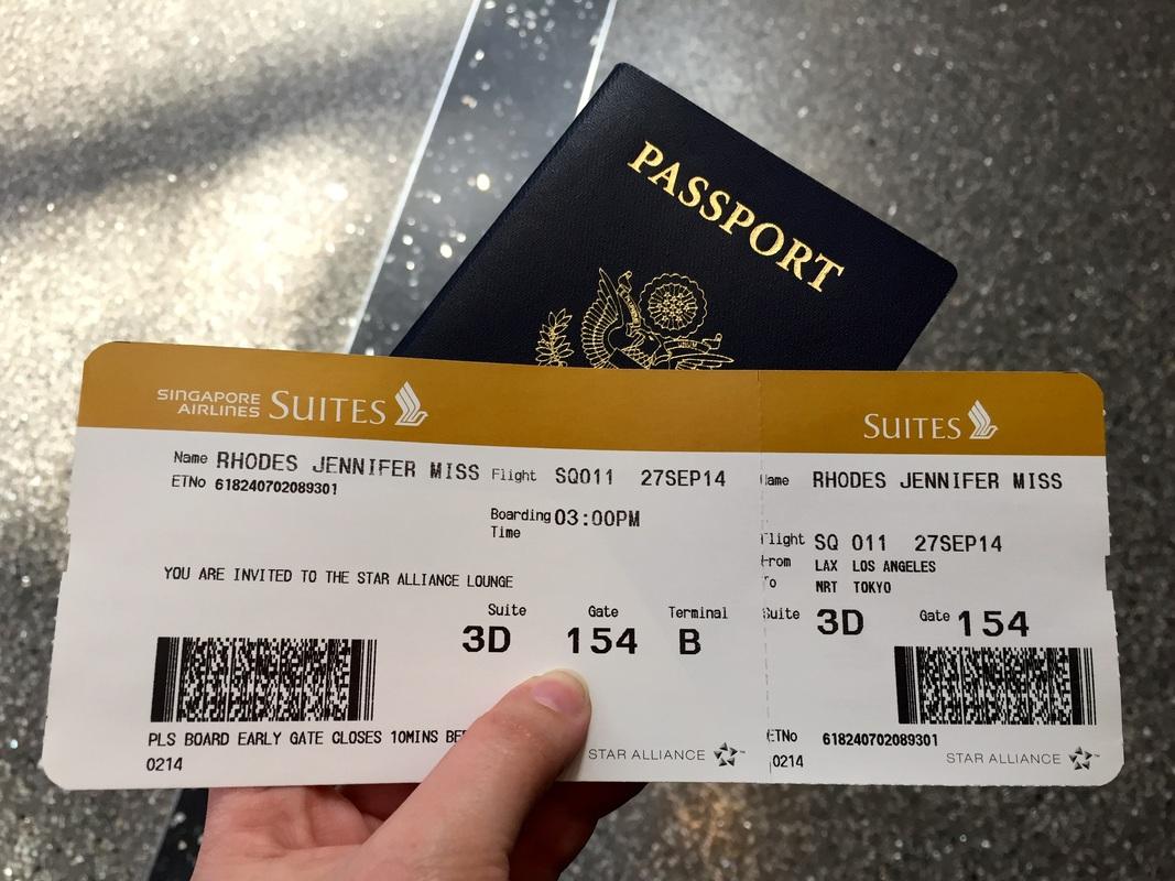 Singapore plane ticket