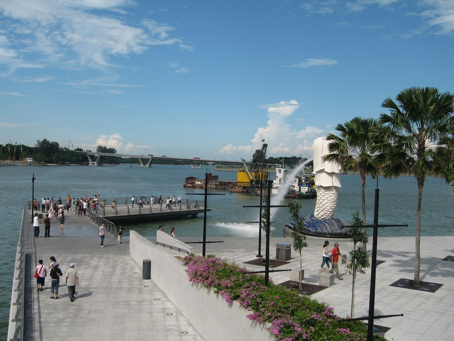 The Merlion Singapore2