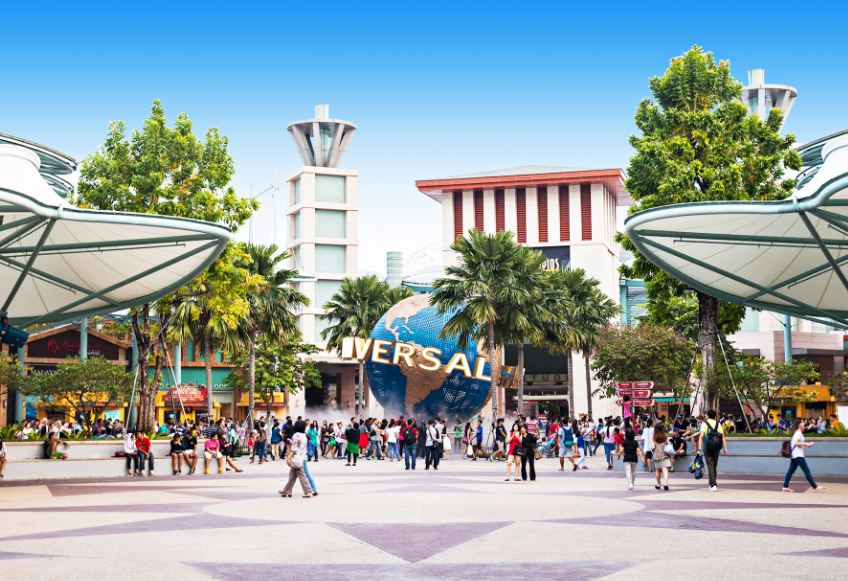 Universal Studio Singapore Image by: Universal Studios Singapore tips blog.