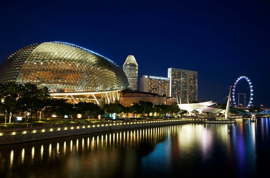 Esplanade Theater singapore itinerary 4 days what to do in singapore in 4 days